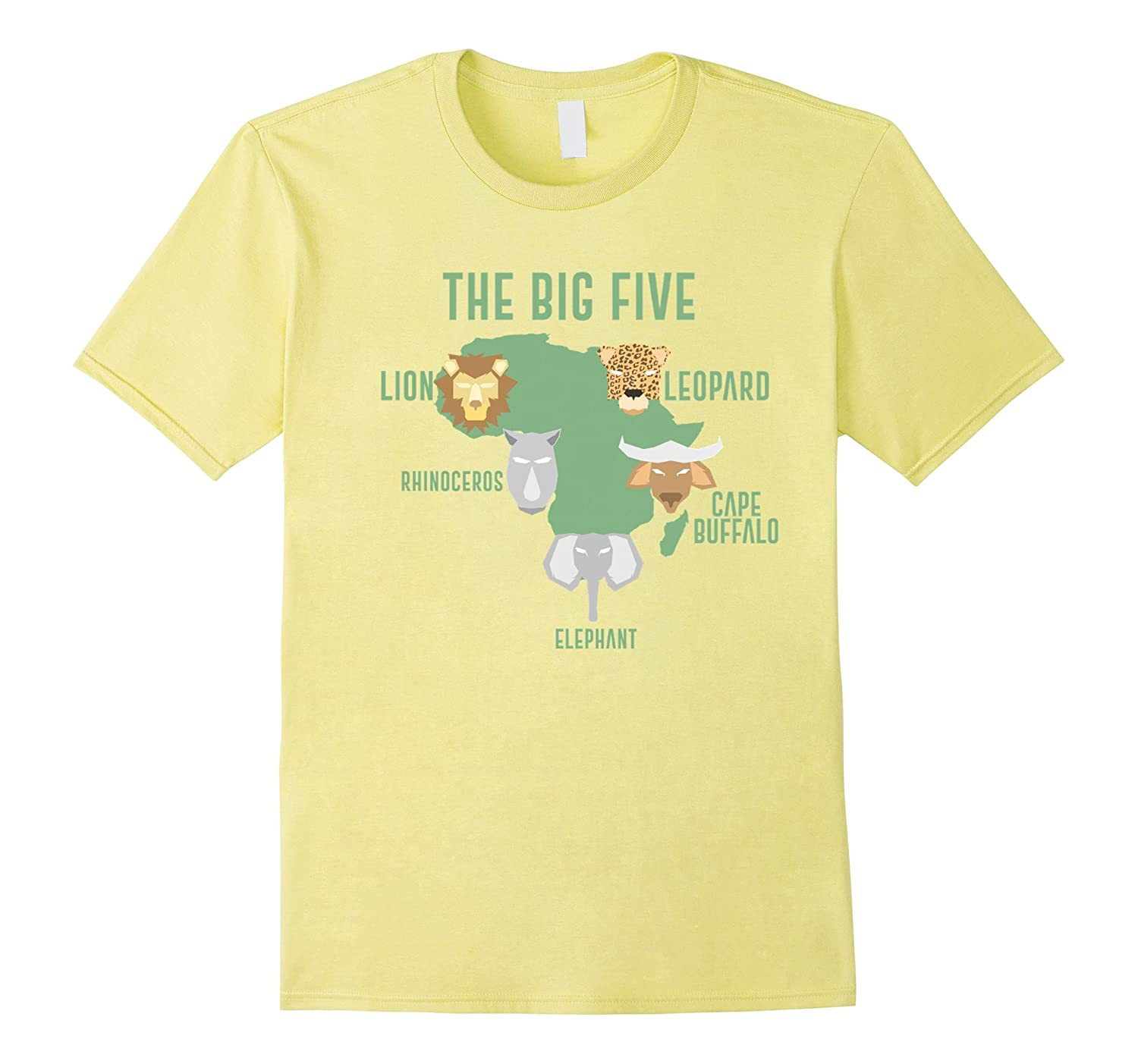Africa The Big Five Animals T-Shirt | Kids Toddler BIG 5-ANZ
