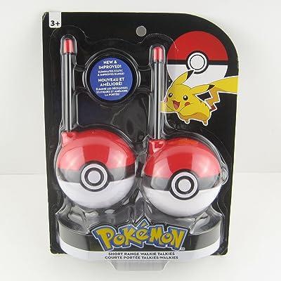 KIDdesigns Pokemon Charactr WalkieTalkies (PK202EXV6): Toys & Games