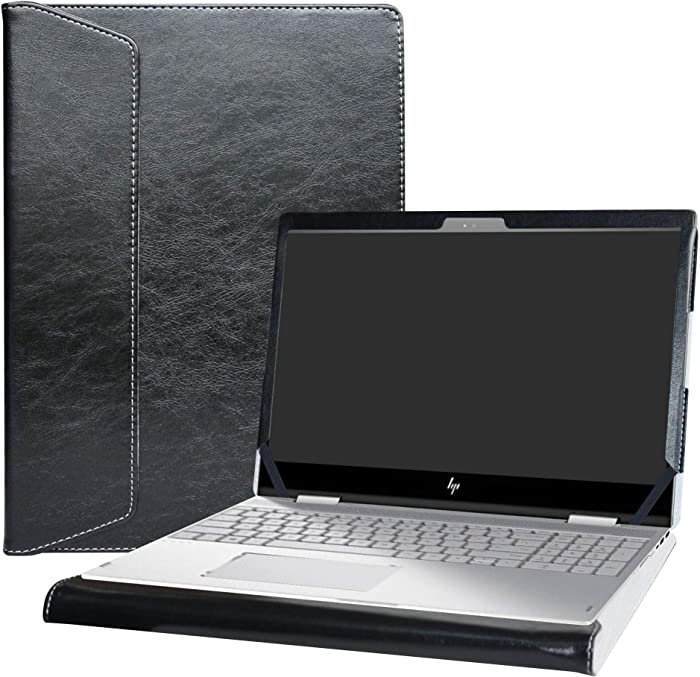 "Alapmk Protective Case Cover for 15.6"" HP Envy X360 15 15-cnXXXX 15m-cnXXXX 15-cpXXXX 15m-cpXXXX Laptop [Warning:Not fit Envy X360 15 15-apXXX 15-arXXX 15-wXXX 15-bqXXX 15-bpXXX 15-uXXX Series],Black"