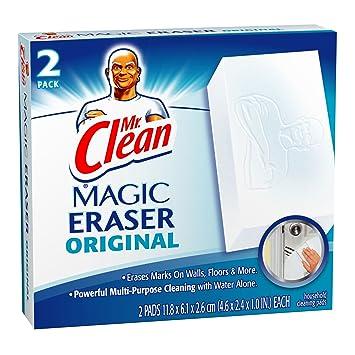 Mr  Clean Erase and Renew Magic Eraser  Original  2 Count. Amazon com  Mr  Clean Erase and Renew Magic Eraser  Original  2