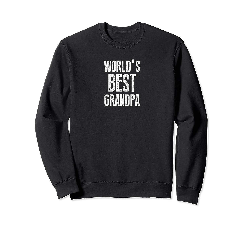 World's Best Grandpa Funny Grandpa Sweatshirt-TH