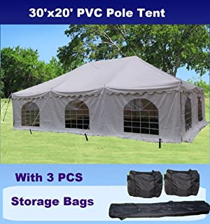 30u0027x20u0027 PVC Pole Tent - Heavy Duty Wedding Party Canopy Shelter - with & Amazon.com: Shade Tree 20u0027 x 30u0027 Heavy Duty Event Party Wedding ...