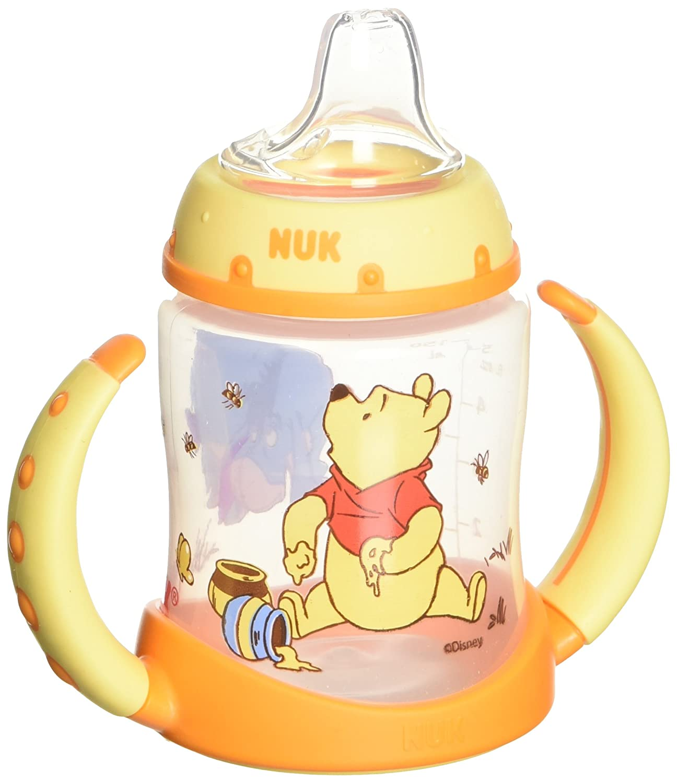 NUK Disney Winnie the Pooh 5 Ounces Learner Cup Silicone Spout, 6+ Months 62745
