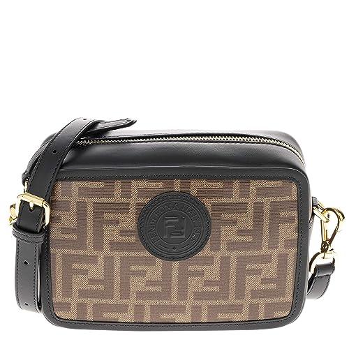5fcd2e949c Fendi borsa a tracolla donna nero: Amazon.it: Scarpe e borse