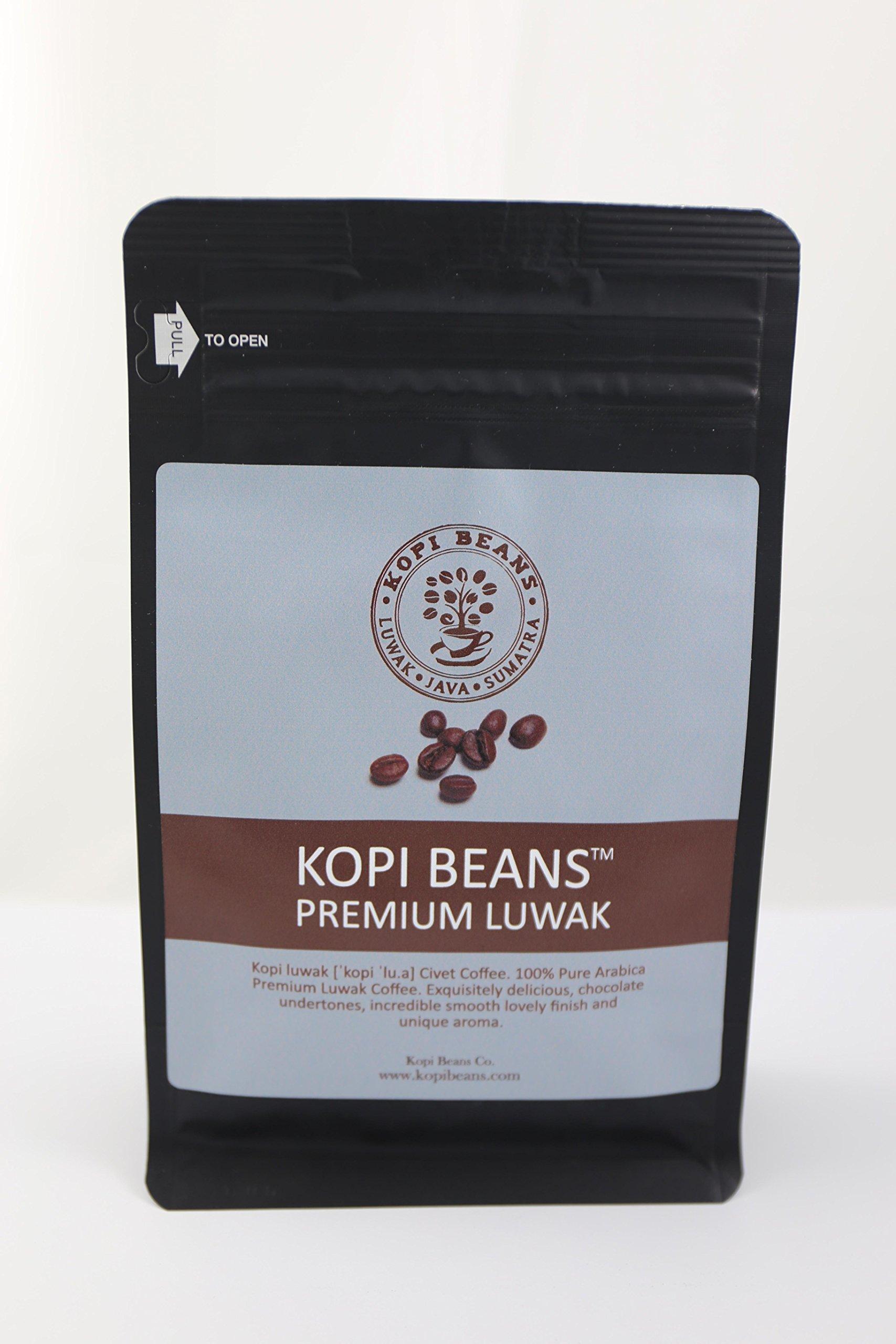 Kopi Beans (Kopi Luwak Beans, 250 grams)