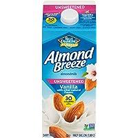 Almond Breeze Blue Diamond, Almond milk, Lactose free, Vanila, 64 Oz