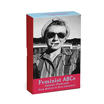 Knock Knock Feminist ABCs Alphabet Flashcards: From Activist to Zero Tolerance! : Office Products