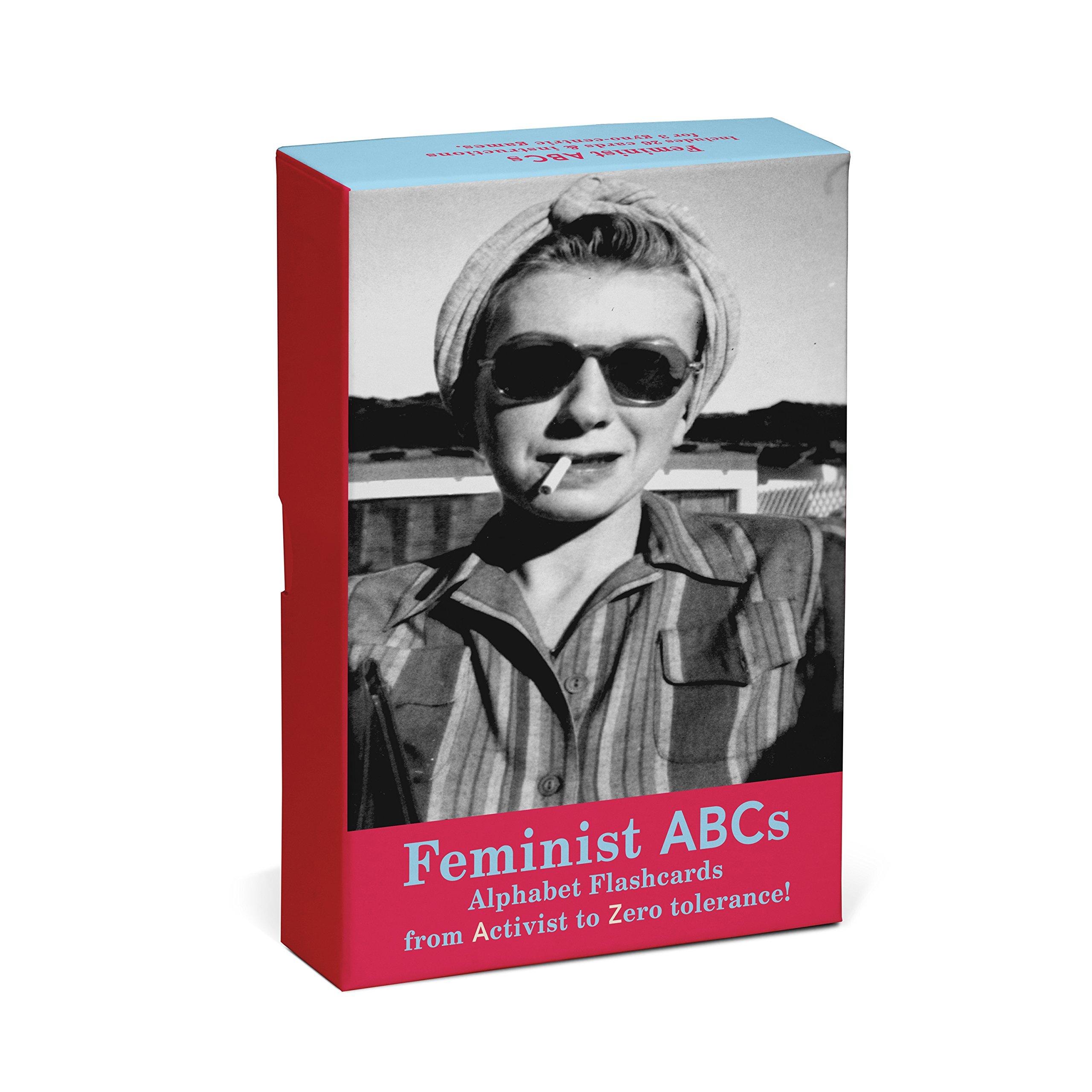 Read Online Knock Knock Feminist ABCs Alphabet Flashcards: From Activist to Zero Tolerance! PDF