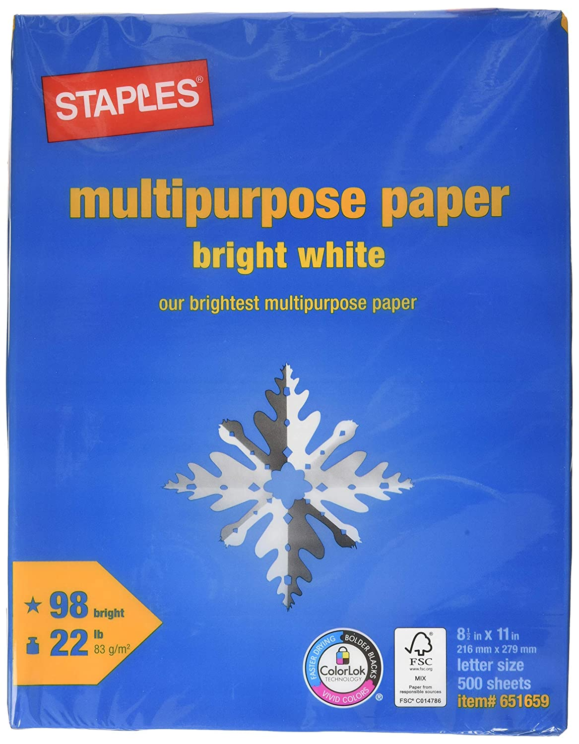 Amazon.com: Grapas Multipurpose Paper, 8 1/2