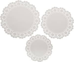 Wilton 2104-90005 24 Count Doilies, Multipack, White