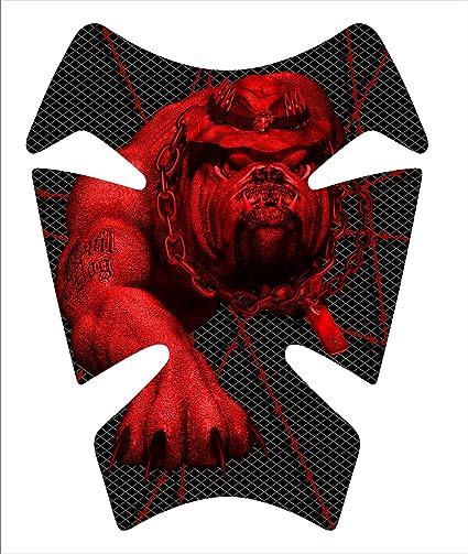 Marines Devil Dog Rojo Gel Gas Tankpad Kawasaki Ninja Zx ...
