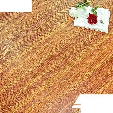 Pvc Flooring Sticker Wood Free Of Glue Waterproofliving