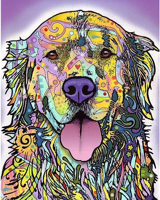 Golden Retriever Dog Silhouette Wall Decal Dog Pet Wall Sticker Animal