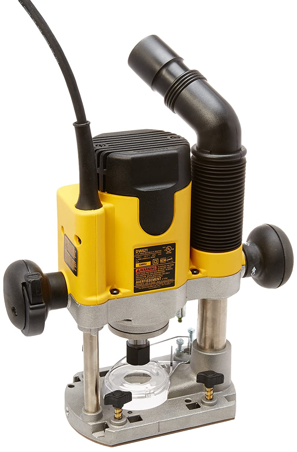 Dewalt dw621 2 horsepower plunge router power routers amazon greentooth Choice Image
