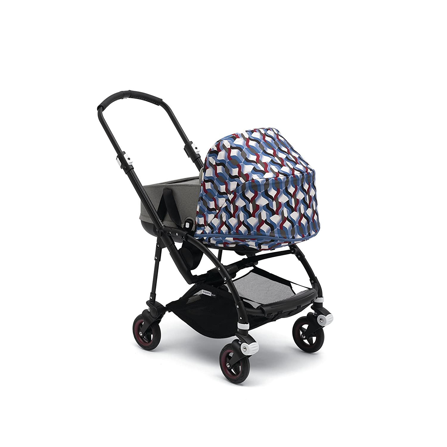 Bugaboo Bee5 Sun Canopy Extendable Sun Shade for Full Weather Protection Birds Print Machine Washable