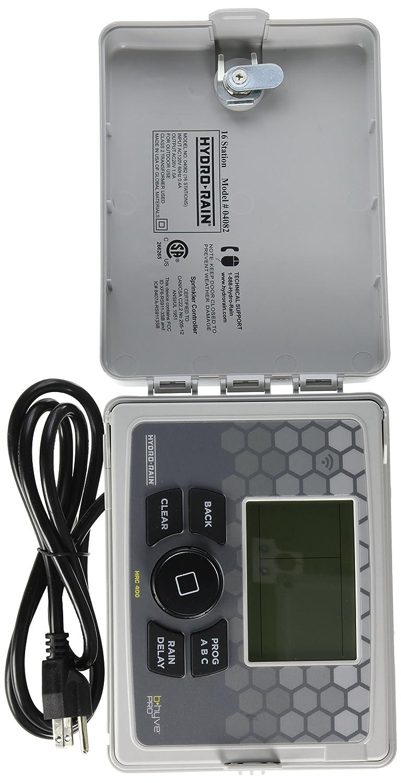 Amazon.com : Hydro-Rain HRC 400 Indoor/Outdoor 16-Station Wi-Fi Smart  Irrigation Controller : Garden & Outdoor