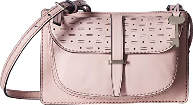 28b75377b Fossil Women's Ryder Small Crossbody Burnished Lilac One Size: Handbags:  Amazon.com