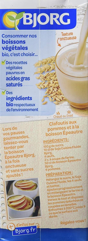 Boisson Douceur De Pequeña Espelta Bio 1 L: Amazon.es: Alimentación y bebidas