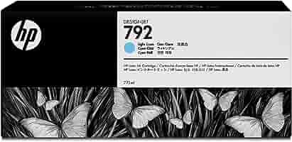 HP 792 - Cartucho de Tinta para impresoras (Cian, 775 ml, HP ...