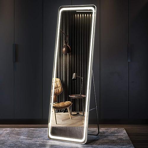 LVSOMT 63″x20″ LED Full Length Mirror