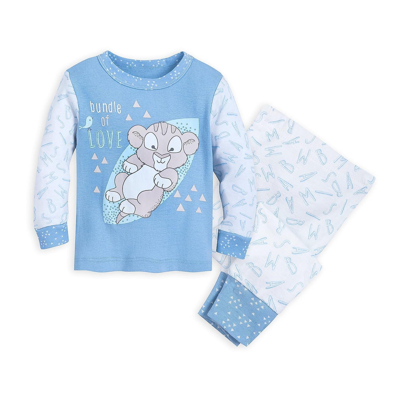 Disney Simba Pajama Set for Baby The Lion King Size 3-6 MO Multi