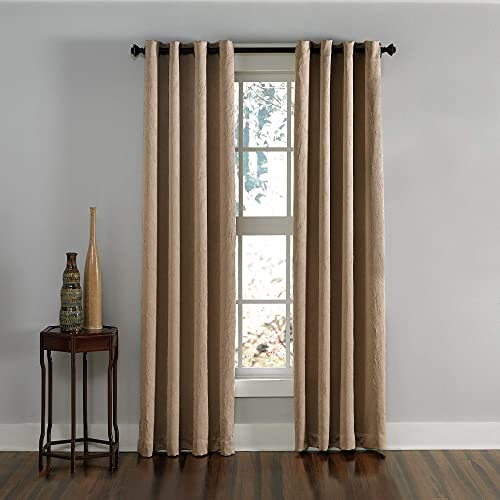 Curtainworks Lenox Grommet Curtain Panel