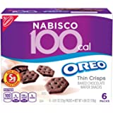 Nabisco 100 Cal Oreo Thin Crisps Chocolate Snacks, 4.86 Ounce (Pack of 6)