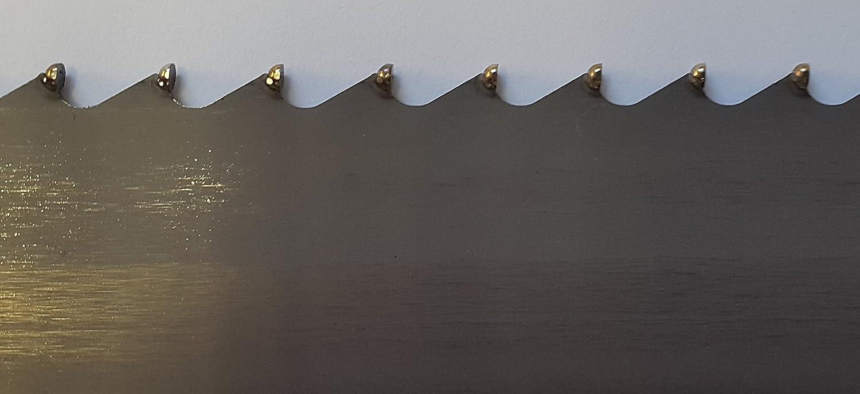 HM Bands/ägeblatt 3520x27x0,90 mm 3 ZpZ z.B f/ür LISSMAC MBS 502//2 Steins/ägeband Ytong Gasbeton