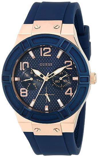 be2683e04e82 GUESS - Reloj casual de acero inoxidable para mujer