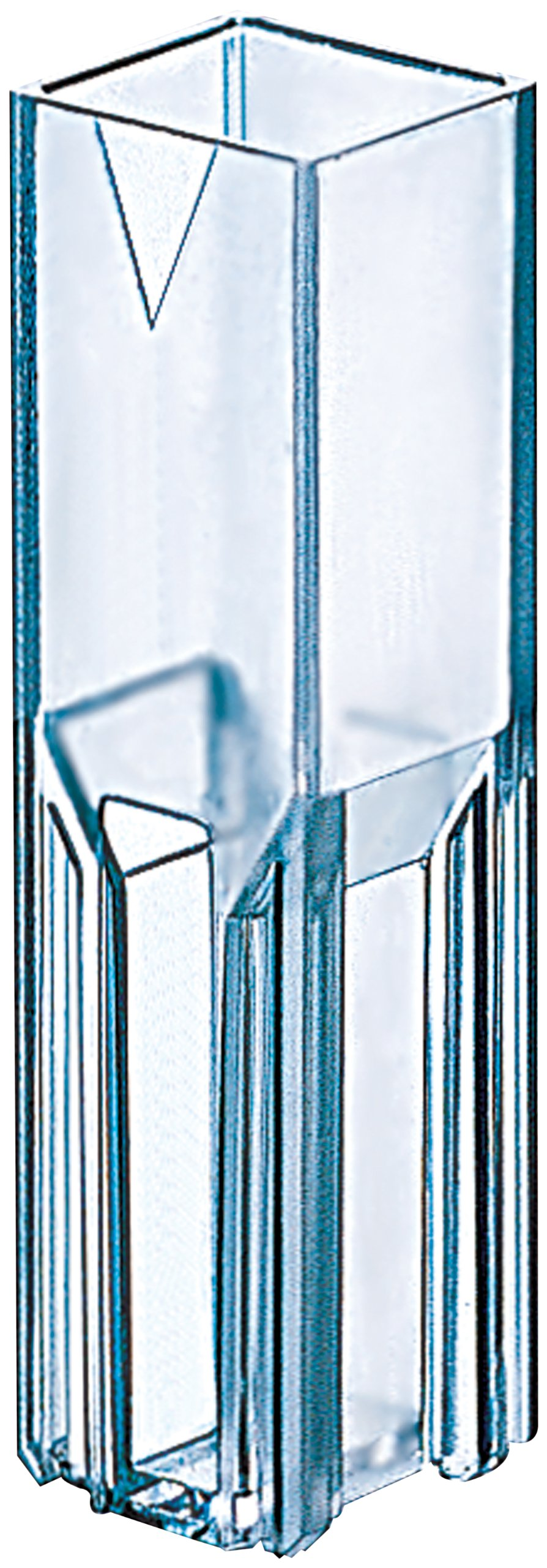 Thomas Methacrylate Cuvette Cell, 1.5mL Volume, 285 to 750nm Spectral Range (Case of 5 Packs, 100 per Pack)
