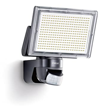 Steinel Sensor LED Xled Home 3 Negro - Nuevo con neutralweißer Color de luz 4000 K, ...