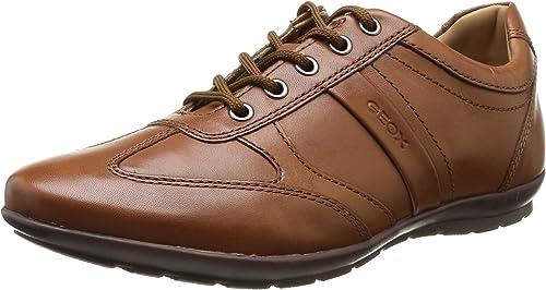 Geox Herren U Symbol C High Top Sneakers mit dezenter Logoprägung und Ziernähten RdGvX