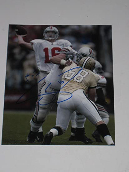 245196a97d0 Craig Krenzel  16 signed Ohio State Buckeyes 8x10 photo National Champs COA  at Amazon s Sports Collectibles Store