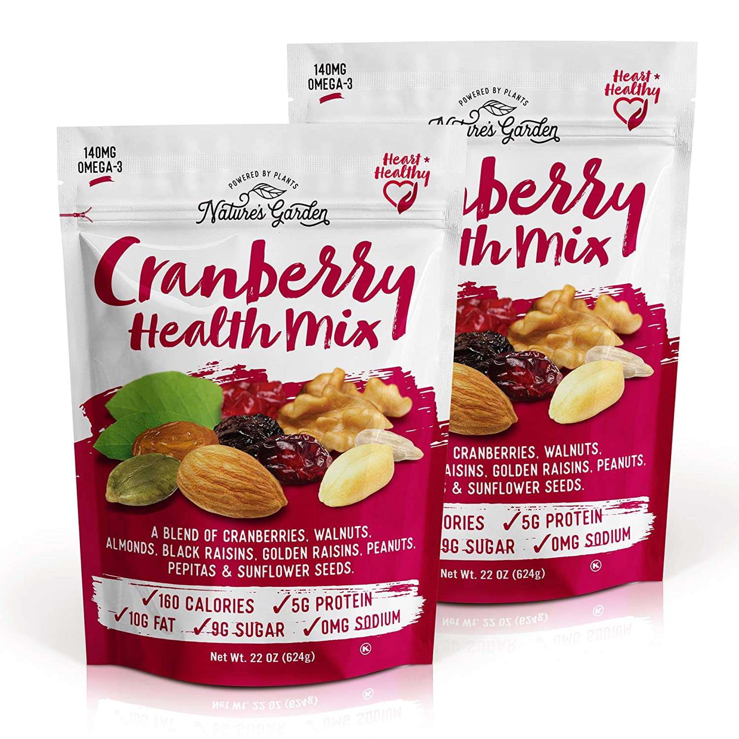 Nature's Garden Cranberry Health Mix, 22 oz (Pack of 2)
