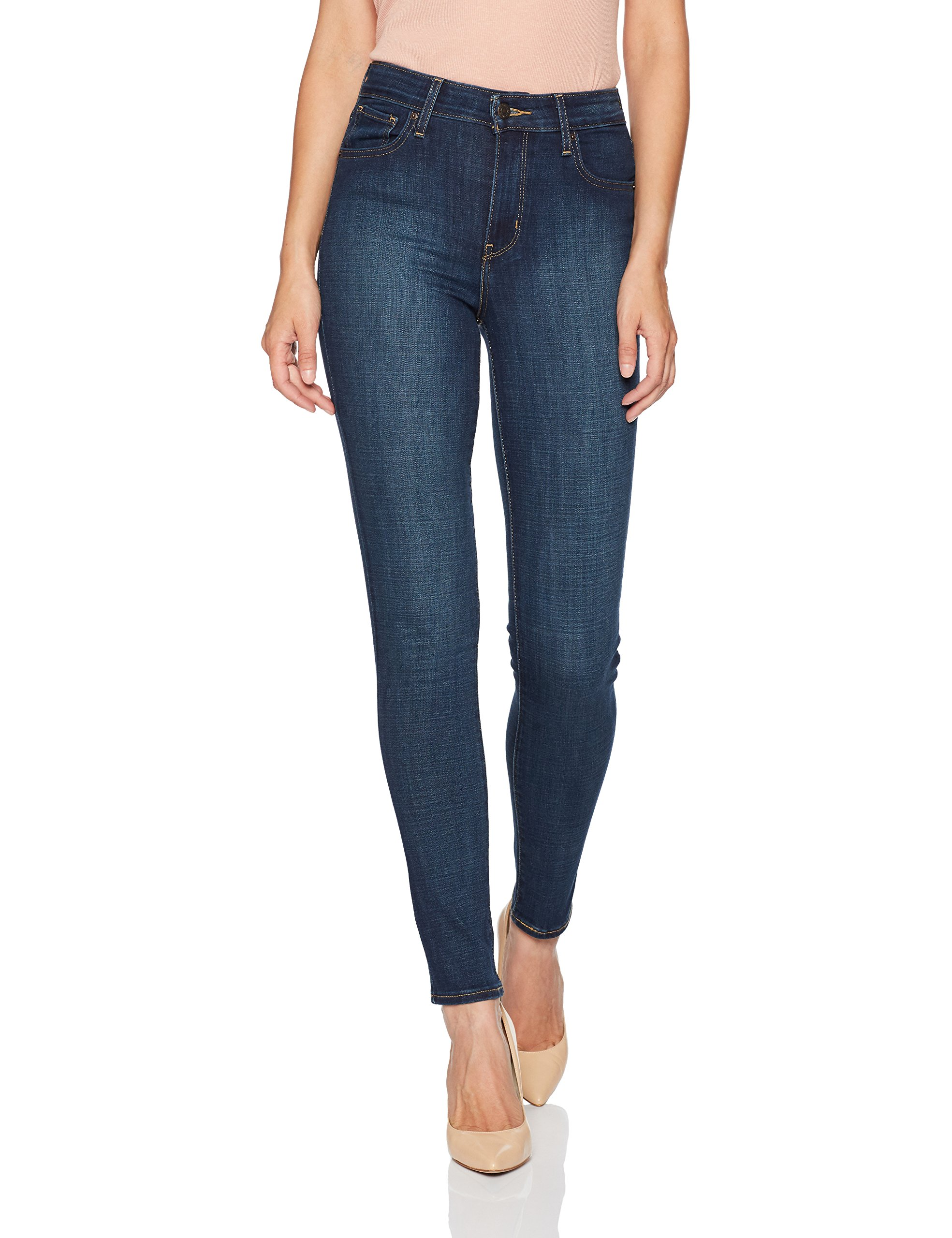 Levi's Women's 721 High Rise Skinny Jeans,  Blue Story,  30 (US 10) R by Levi's