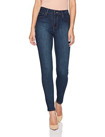 Levi's Women's 721 High Rise Skinny Jeans, Blue Story, 24 (US ...