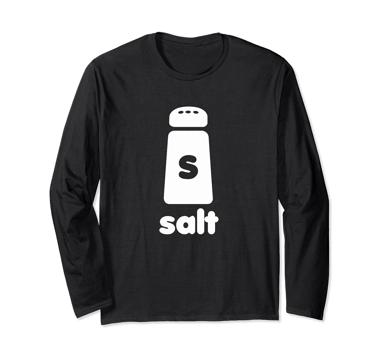 Salt Shaker Halloween Simple Costume Long Sleeve Shirt-ANZ