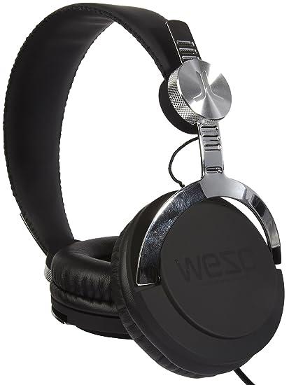 WeSC Test The Bass Headphones,One Size,Black