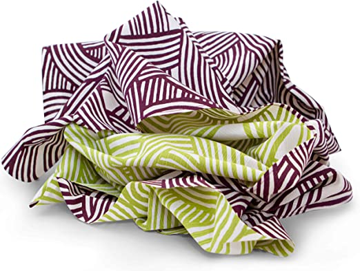 Japanisch Traditionell Furoshiki Verpacken Tuch 70cm Hergestellt IN Japan Lila