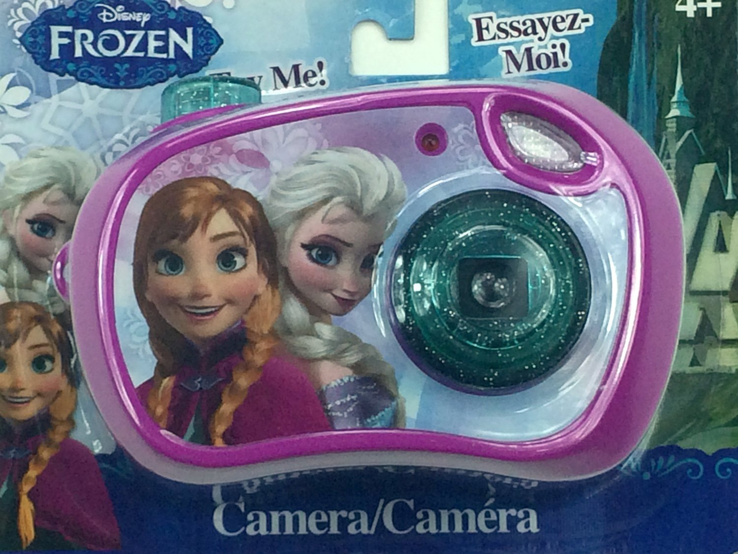 Disney Frozen Toy Camera Featuring Elsa & Anna