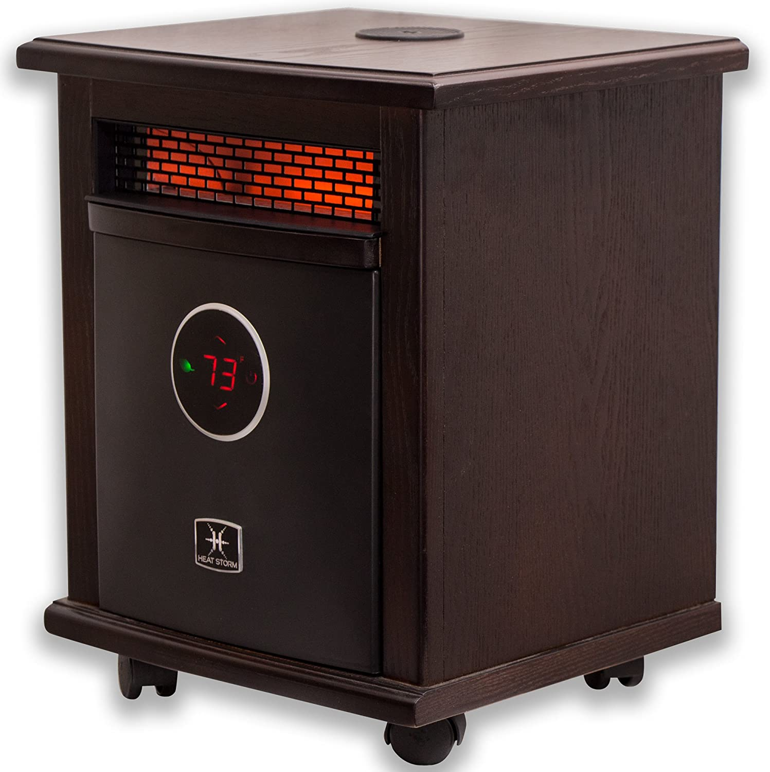 Heat Storm Deluxe Logan w/Bluetooth Speaker Portable Infrared Space Heater
