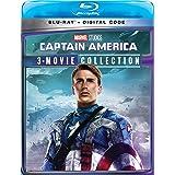 CAPTAIN AMERICA 3-MOVIE COLLECTION [Blu-ray] (Bilingual)