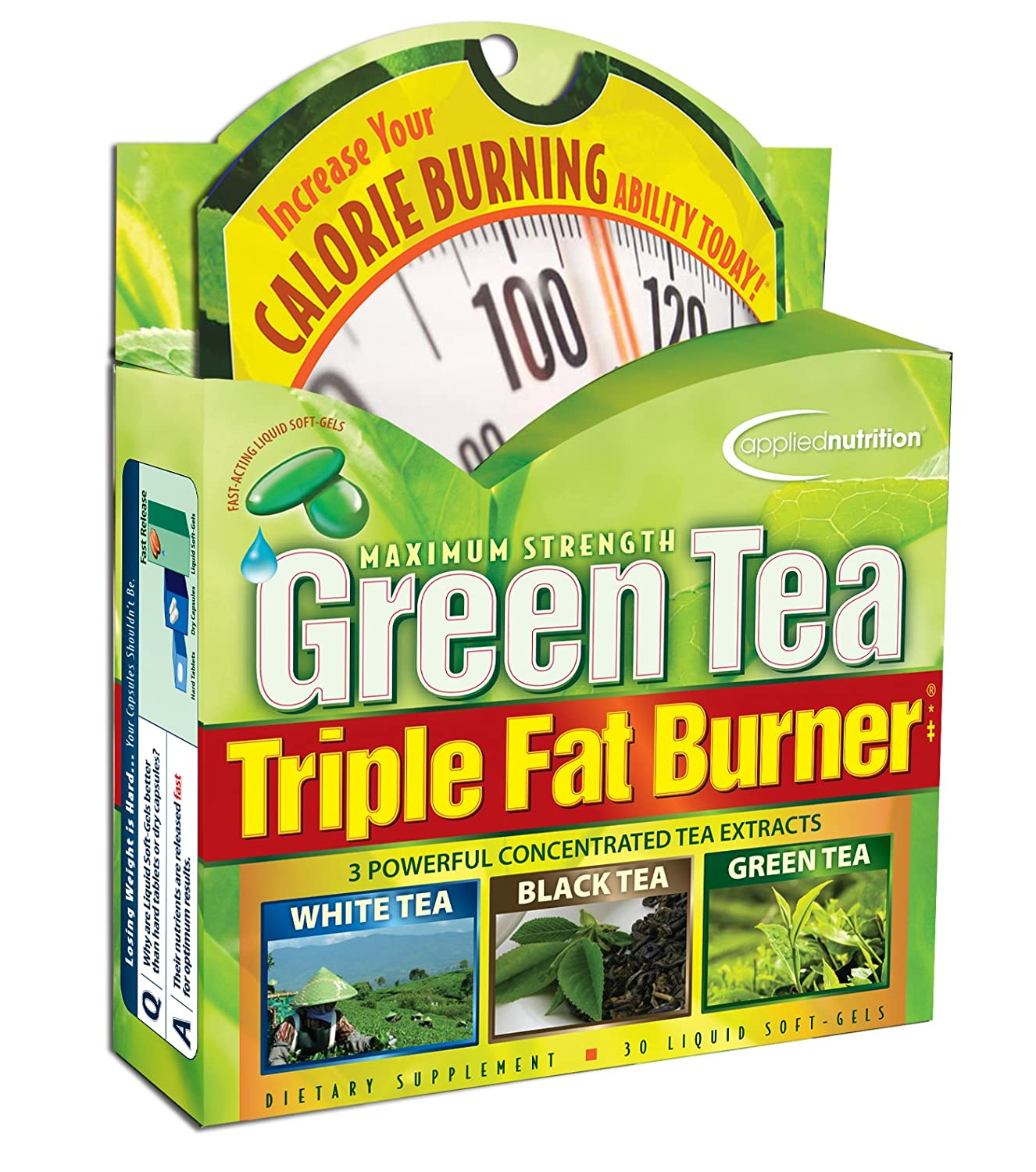 Amazon Applied Nutrition Green Tea Triple Fat Burner