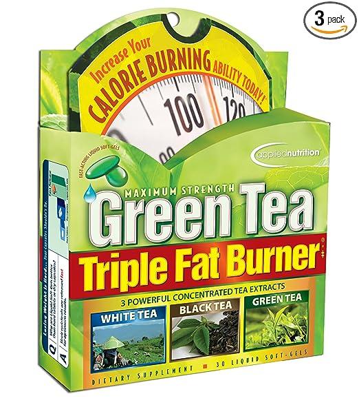 Applied Nutrition Green Tea Triple Fat Burner 30 Liquid Soft Gels Pack Of 3