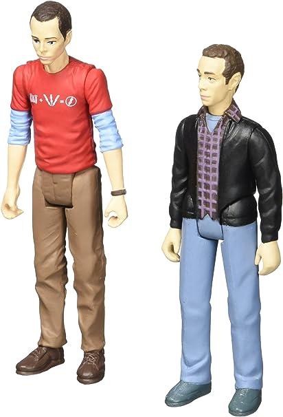 "Con Exclusive 3 3//4/"" Action Figures The Big Bang Theory Sheldon /& Stuart"