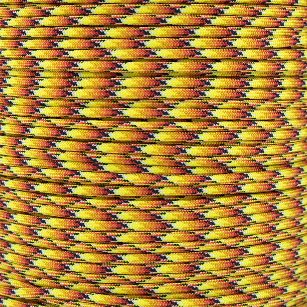 Paracord Planet 10', 25', 50', 100' Hanks & 250', 1000' Spools of Parachute 550 Cord Type III 7 Strand Paracord New Colors (C4, 10 feet)