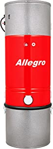 Allegro MU5800 Davinci 10,000 Square Foot Home High Efficiency Central Vacuum Power Unit Life-Time Warranty