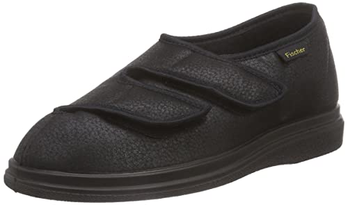 Outlet View Unisex Adults Bequem Schuh Schwarz Unlined Low House Shoes Fischer Buy Cheap Browse Hurry Up Comfortable 8UDfHHpZ