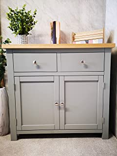 buy popular 922db 1faee Maine Furniture Co. Faversham Dove Grey Small Cupboard ...