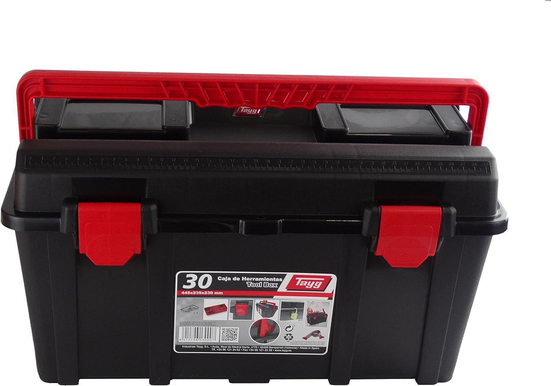 Tayg Caja de herramientas plástico n. 30, 445 x 235 x 230 mm ...
